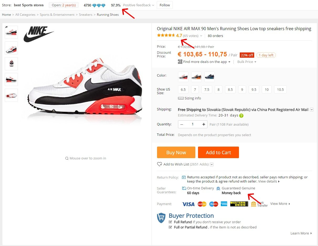 2 nike fake obuv aliexpress