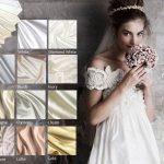wedding dress grown colors materials