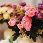 aliexpress Plastova dekorace umele kytky 3
