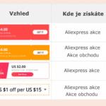 Aliexpress coupons kupony vysvetleni CZ