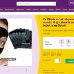 Aliexpress vs slevove portaly nakupovani zbozomat cerna maska