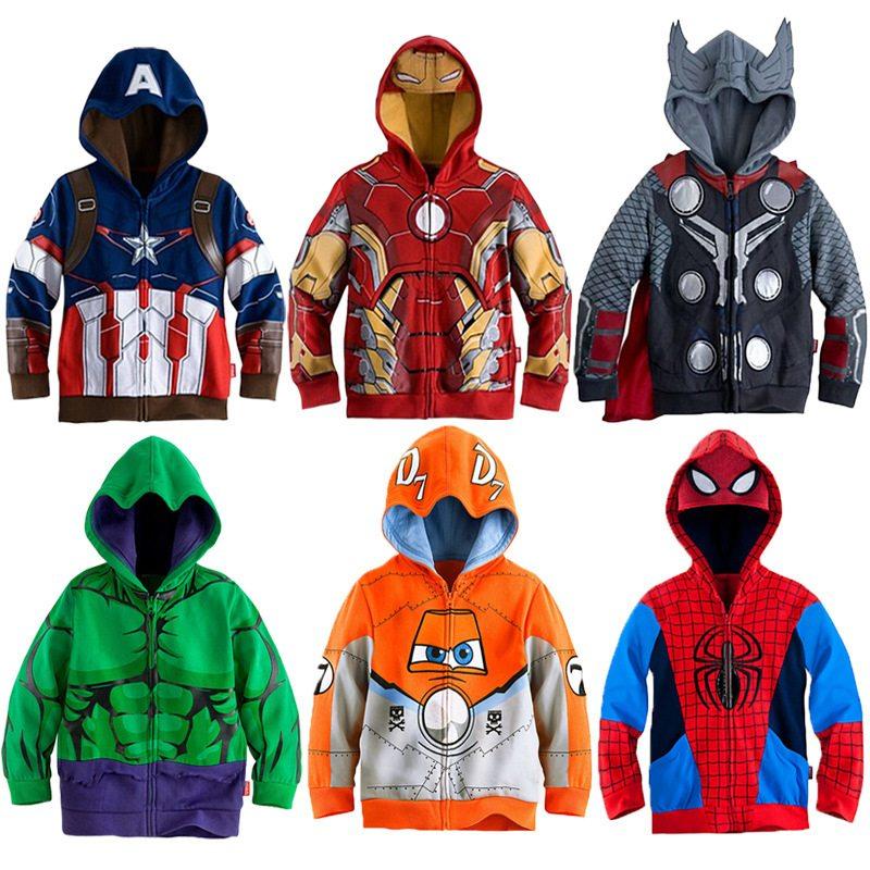 Detsky zupan Aliexpress Spiderman detske obleceni levne