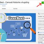 GearBest Star doplnek do Opera 11