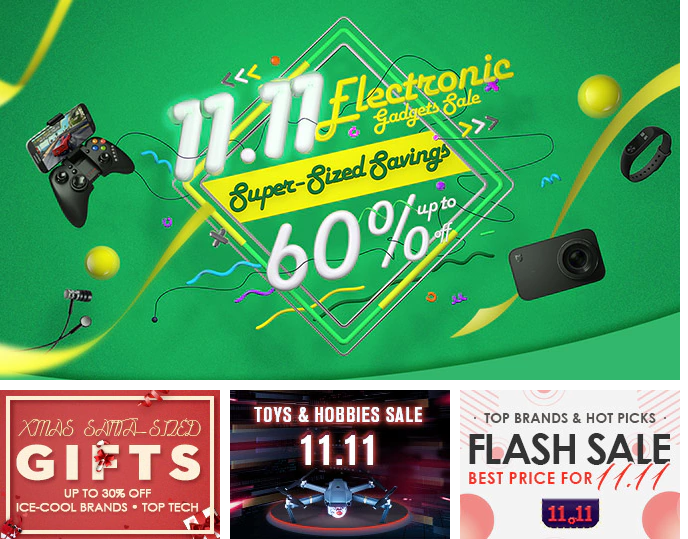 Gearbest 11.11. Aliexpress sale shopping festival
