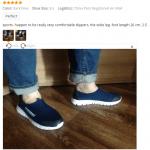 Jak vybrat velikost obleceni nebo bot Aliexpress 7