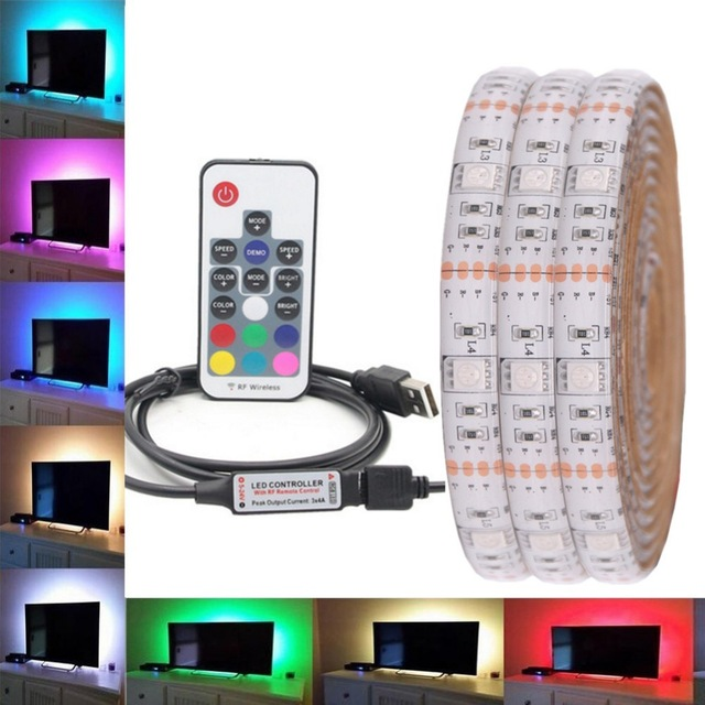 LED-Strip-Waterproof-DC-5V-USB-LED-Light-Strips-Flexible-Tape Aliexpress 2