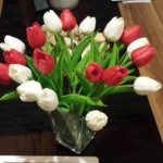 aliexpress Plastova dekorace umele kytky 10
