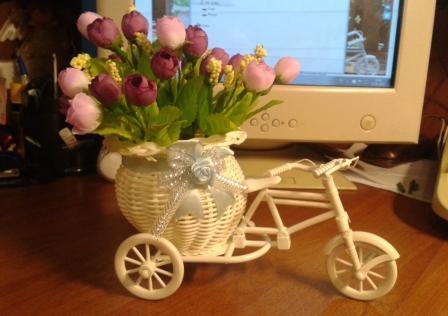aliexpress Plastova dekorace umele kytky 14