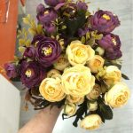 aliexpress Plastova dekorace umele kytky 2
