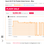 Xiaomi Mi 9T review GearBest China shopping recenze