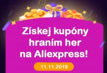 Aliexpress day 11.11.2019 Money hop hry cina CZ web tit sm