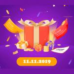 Aliexpress day 11.11.2019 Money hop hry cina CZ web