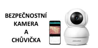Bezpecnostni kamera chuvicka Alfawise Gearbest cina CZ