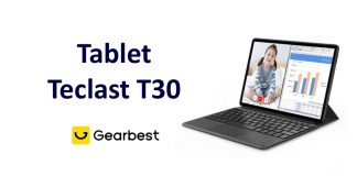 Tablet teclast T30 china gearbest coupon review recenze CZ