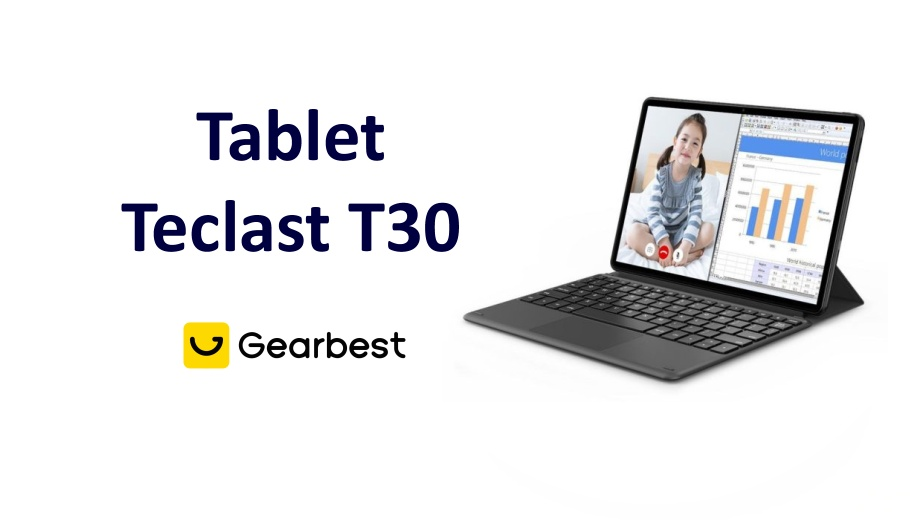 Tablet teclast T30 china gearbest coupon review