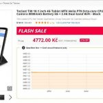 Tablet teclast T30 china gearbest coupon review recenze cena