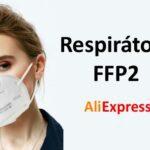 Respiratory FFP2 Aliexpress super cena rousky CZ cesky