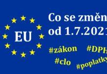 Aliexpress novy zakon clo dph evropska unie EU 2021 CZ