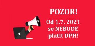 Celni sprava DPH novela zakona 1.7. 2021 CZ